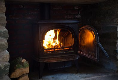 Lodges with Log Burning Stoves